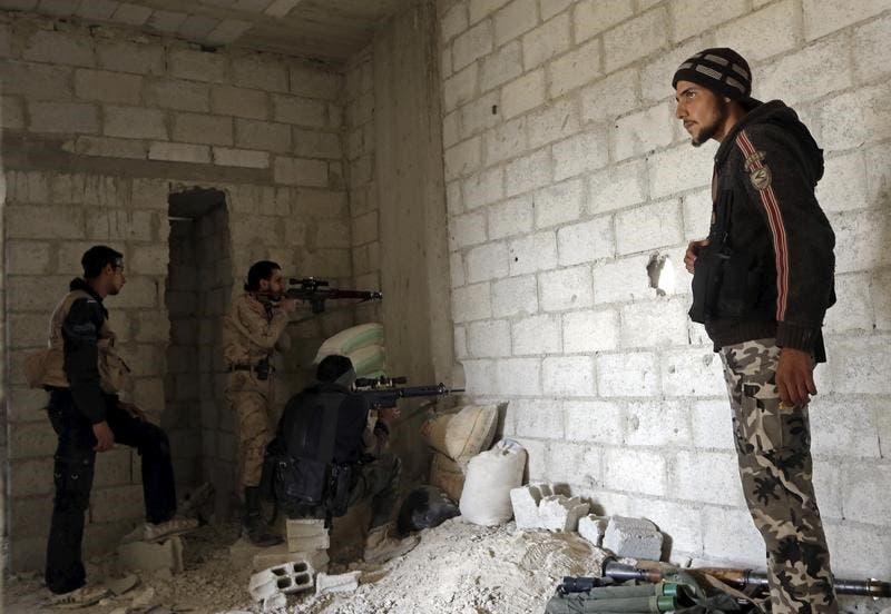 مقاتلون من هيئة تحرير الشام - أرشيفية