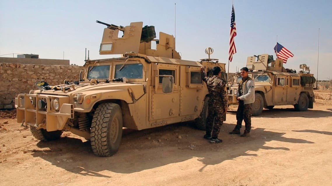 The US military provided air and artillery support in an offensive for a dam near the ISIS stronghold of Raqqa in Syria, (File photo: AFP)