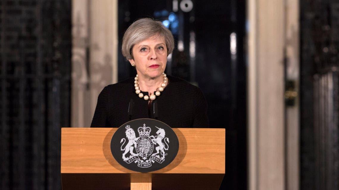 تيريزا ماي تتحدث عن الهجوم على البرلمان البريطاني