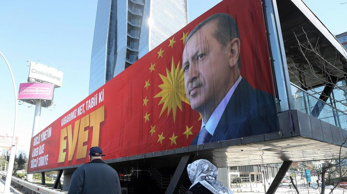 Turkey will review all political and administrative ties with Europe. AFP)