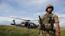 ہیلی کاپٹر حادثے میں ترکی کے 12 فوجی ہلاک