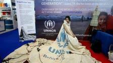 خيمة عائلة سورية تتحول إلى ثوب يجول العالم