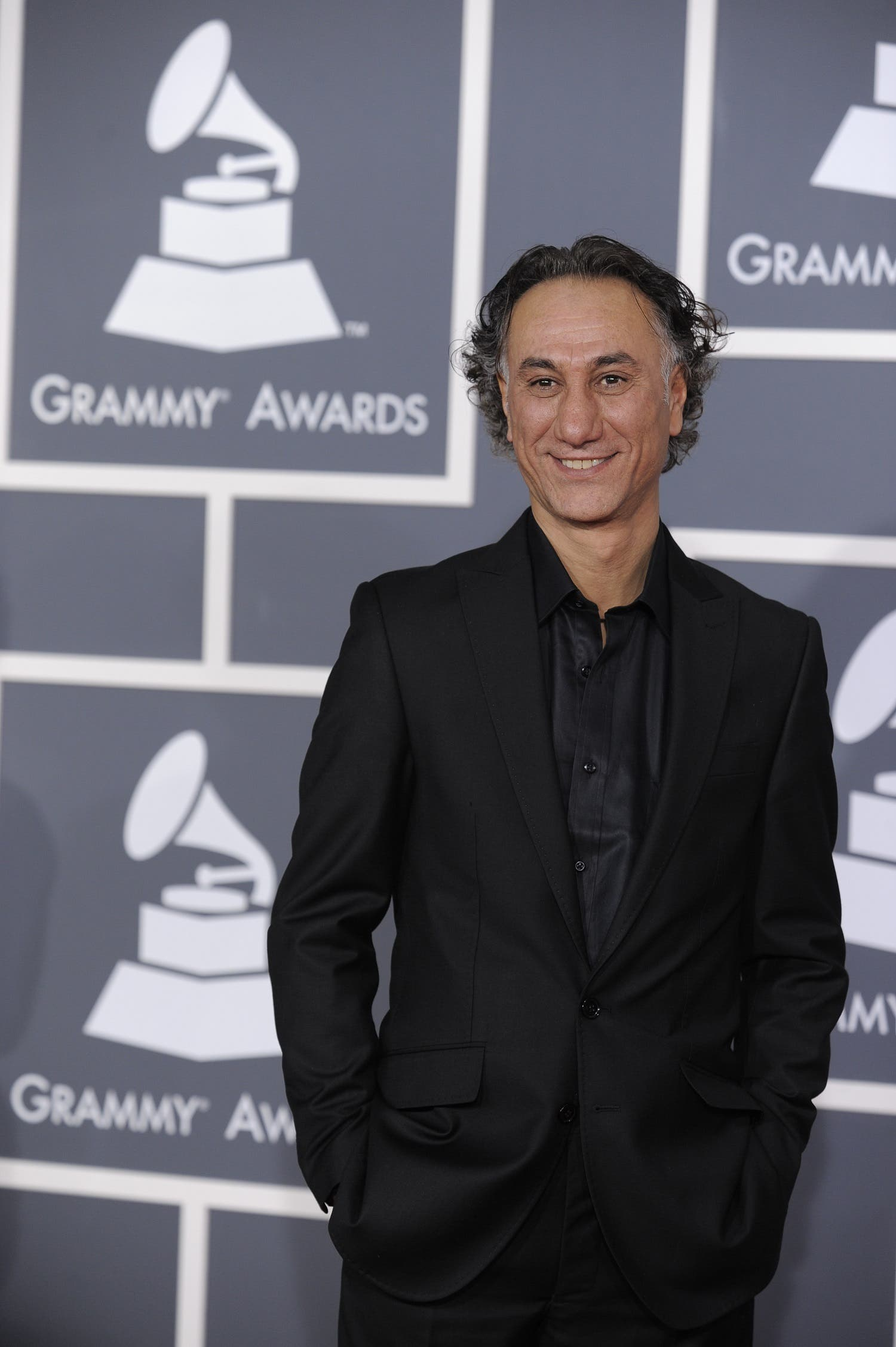 Rahim Alhaj arrives at the Grammy Awards on Jan. 31, 2010, in Los Angeles. (AP)