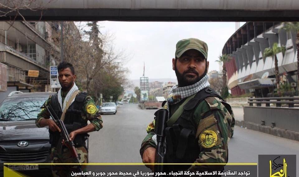 ميليشيات النجباء الايرانية في دمشق