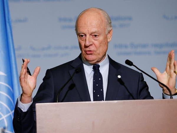دي ميستورا: لا أتوقع اختراقا أو انهيارا في محادثات جنيف
