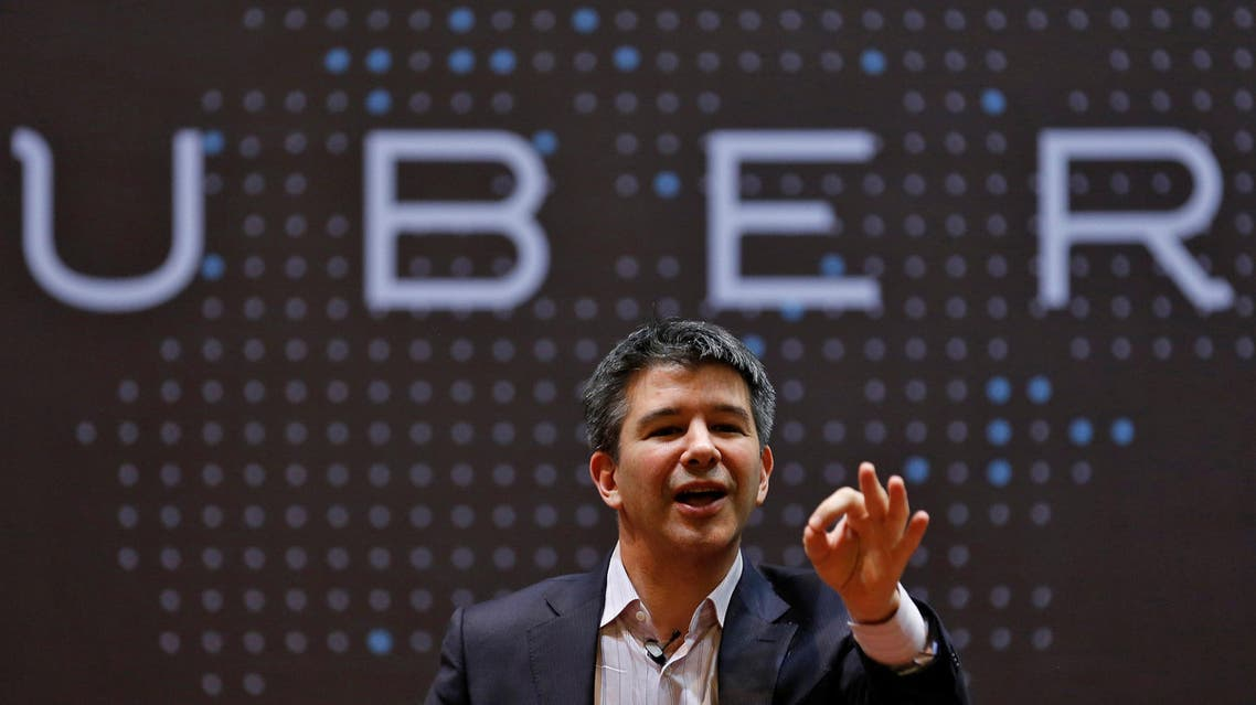 Uber CEO Travis Kalanick speaks to students during an interaction at the Indian Institute of Technology campus in Mumbai, India, January 19, 2016. (Reuters)