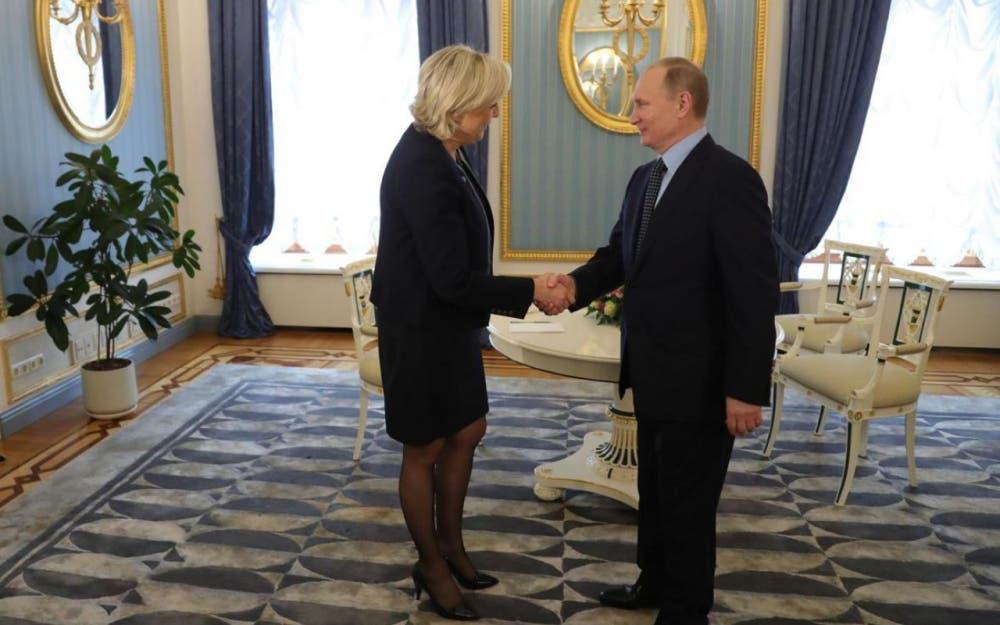 بوتين ولوبان