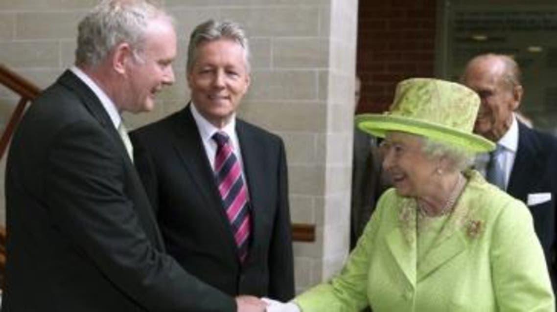مع الملكة