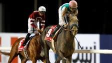 Race favorite Arrogate wins Dubai World Cup
