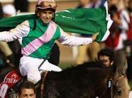 """""""أروجيت"""" يفوز بكأس دبي العالمية للخيل"""