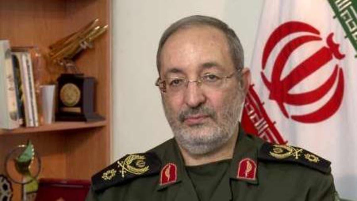 المتحدث باسم القوات المسلحة الایرانیة والقيادي بالحرس الثوري، العمید مسعود جزائری