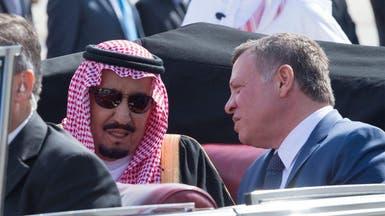 بالصور.. كيف رحب العاهل الأردني بزيارة الملك سلمان؟