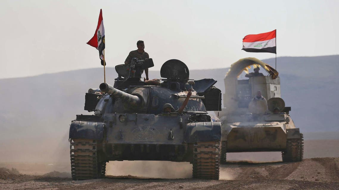 Badush القوات العراقية تتقدم باتجاه بادوش