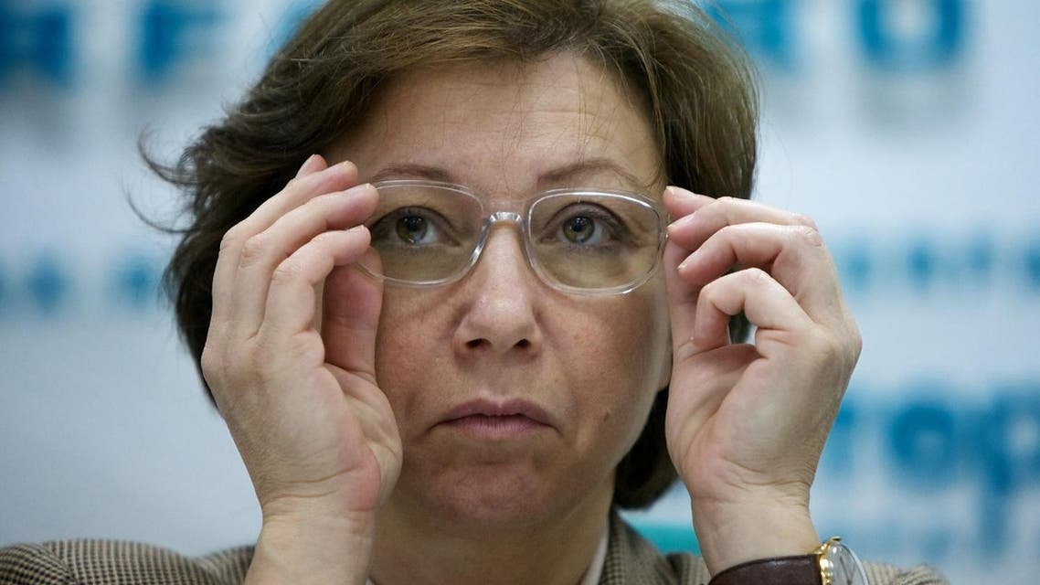 Syrian National Council representative, spokeswoman Basma Kodmani (File Photo: AP /Alexander Zemlianichenko)