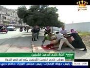 فيديو.. أردني ينحر جملا لحظة مرور موكب الملك سلمان