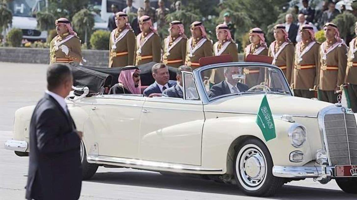 King Salman jordan