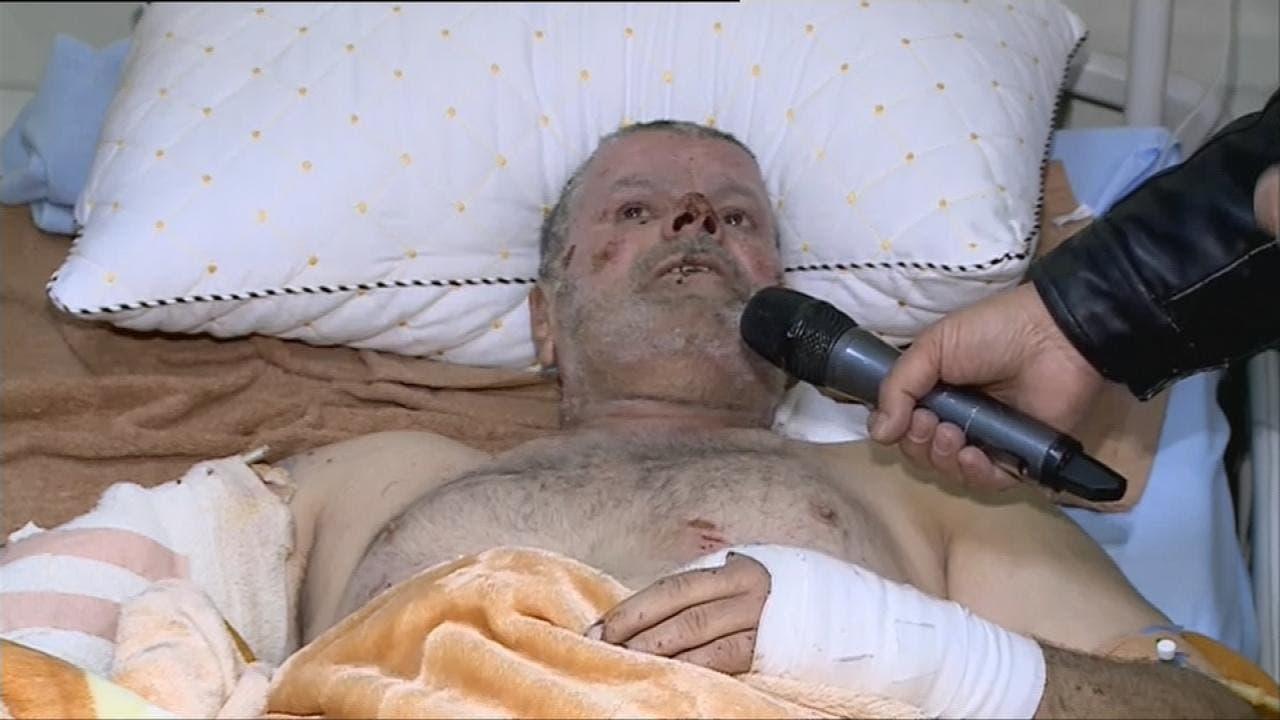 ناج من مجزرة الموصل قضى 4 أيام تحت الأنقاض