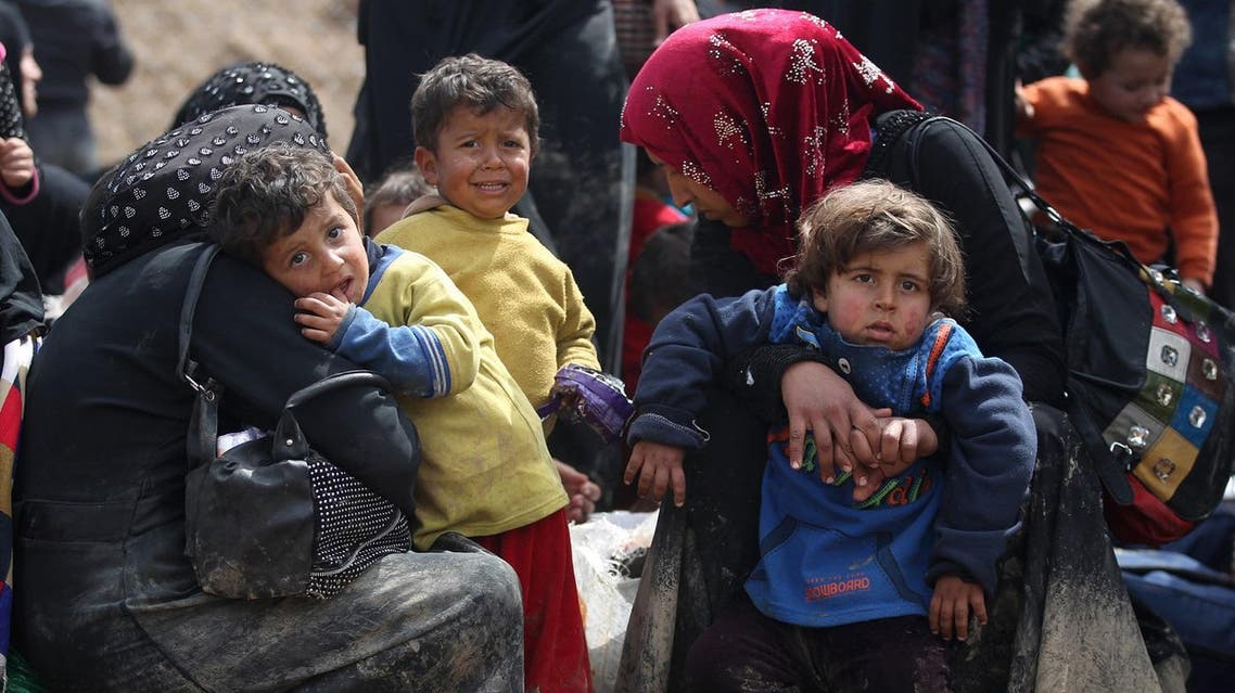 Over 300 civilians have been killed since last month in an offensive against ISIS AFP