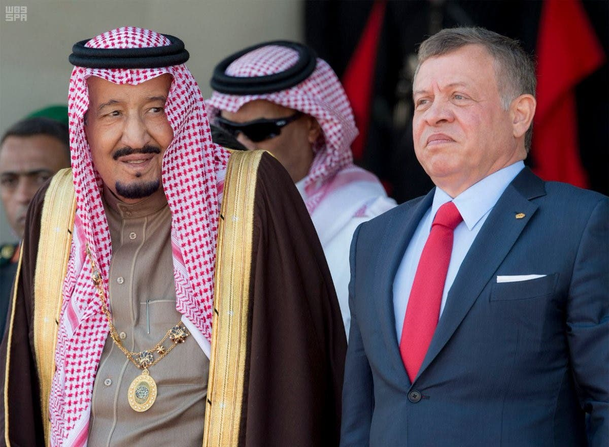 King Salman holds the highest award in Jordan