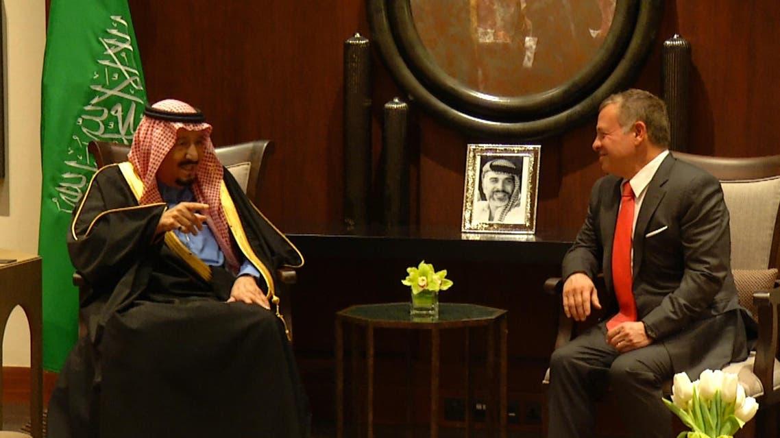 رئيسية- صور لقاء الملك عبدالله الثاني بالملك سلمان وتوقيع الاتفاقيات