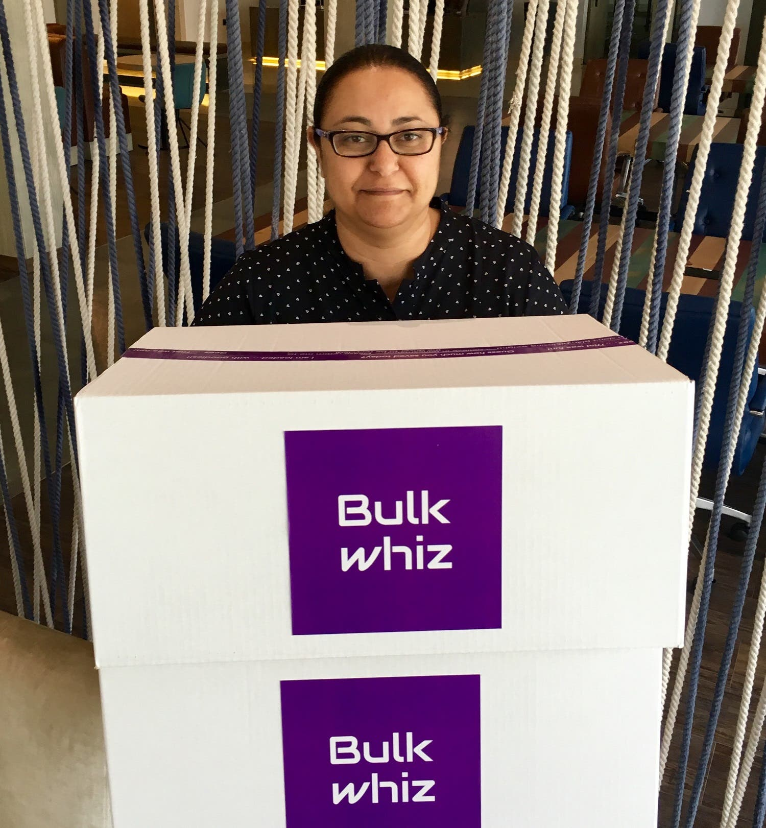 Amira Rashad is set to launch a new venture called the BulkWhiz. (Supplied)