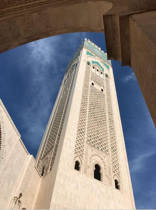 مسجد  الملك الحسن الثاني