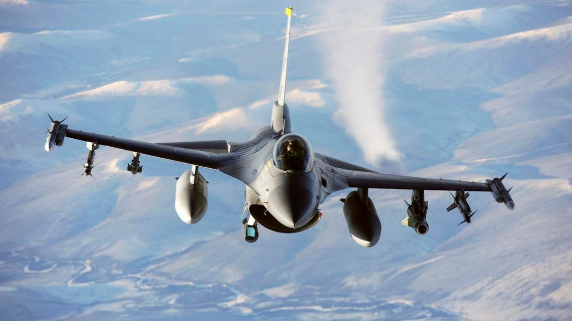 This US Department of Defense photo shows an F-16 Fighting Falcon aircraft on July 24, 2013. (AFP)