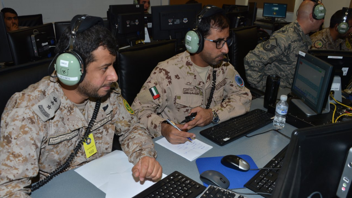 Saudi forces join military drill in Kuwait