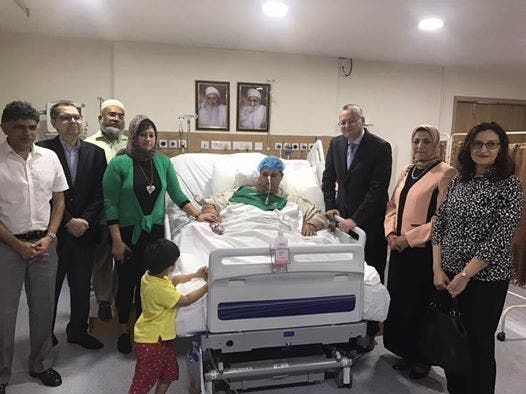 Latest photos of 'world's heaviest' Egyptian woman on path to recovery in India