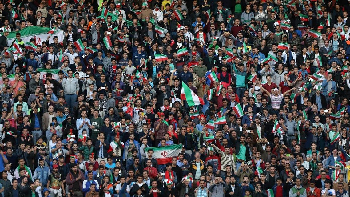 Iranian football club Esteghlal FC, has been ordered to pay fines totaling $51,000 over the behavior of its fans, who flashed laser beams at opposing players and the referee. (File photo: AP)