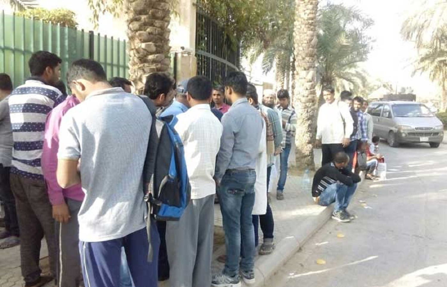 Indian Embassy officials in Riyadh made elaborate arrangements to receive a large number of amnesty seekers. (Saudi Gazette)