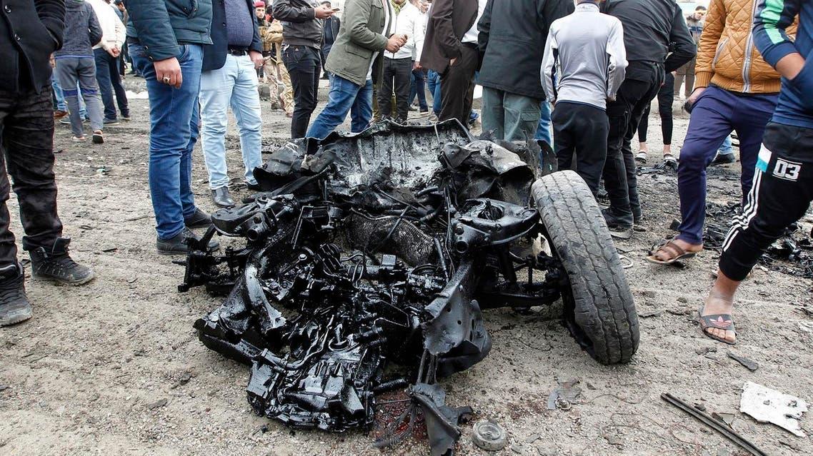 BAGHDAD BOMB AFP