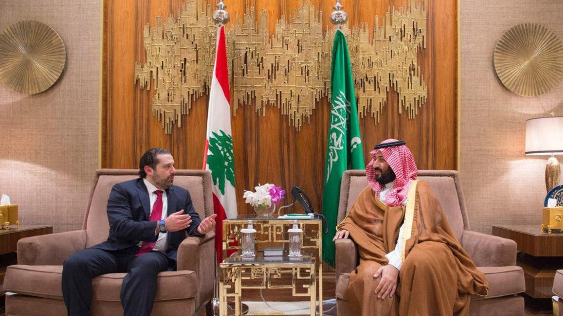 Saudi Deputy Crown Prince and Lebanese Prime Minister discussed relations between the two countries as well as latest developments in the Middle East. (SPA)