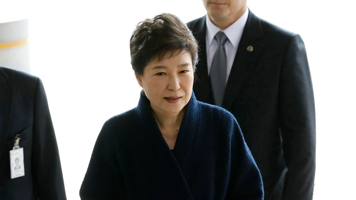 South Korea's disgraced former President Park Geun-hye was arrested and jailed Friday over high-profile corruption allegations. (AP)