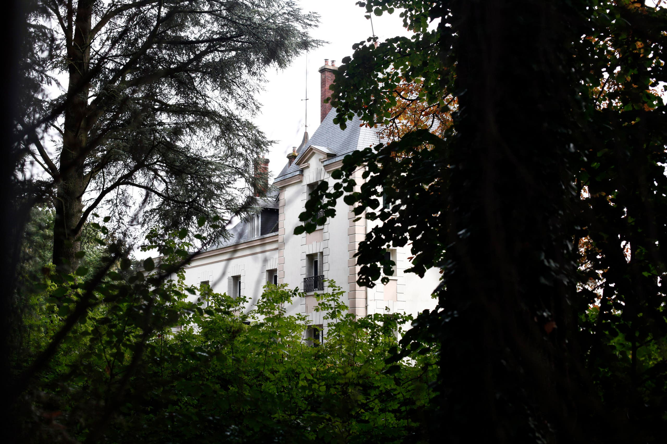 The manor of Bashar al-Assad's uncle, Rifaat al-Assad, is seen, in Bessancourt, north of Paris, Friday, Sept. 13, 2013. The 600 square metre manor whose real estate portfolio in the Paris region alone is estimated at Euros160 million.