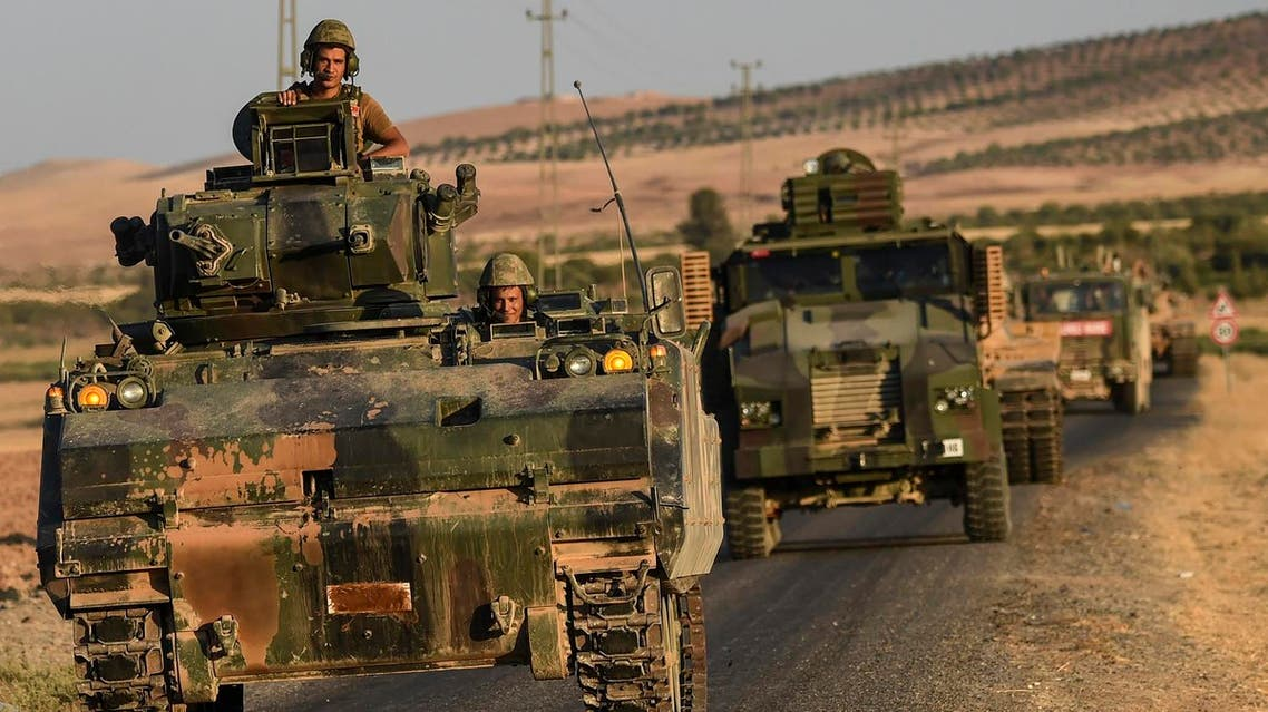 The Turkish army said Friday it will keep a military presence in Syria (AFP)