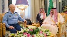 الملك سلمان يبحث التعاون العسكري مع مسؤول صيني
