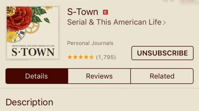 New podcast 'S-town' from 'Serial' creators tops charts - Al Arabiya