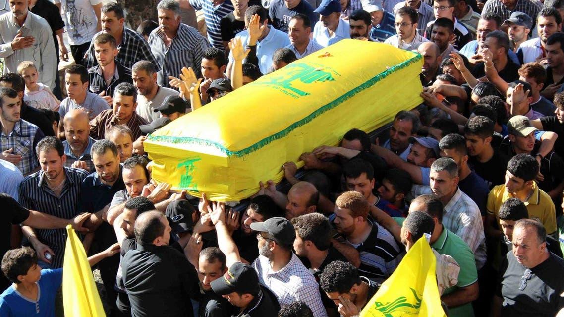 تشييع أحد قتلى حزب الله