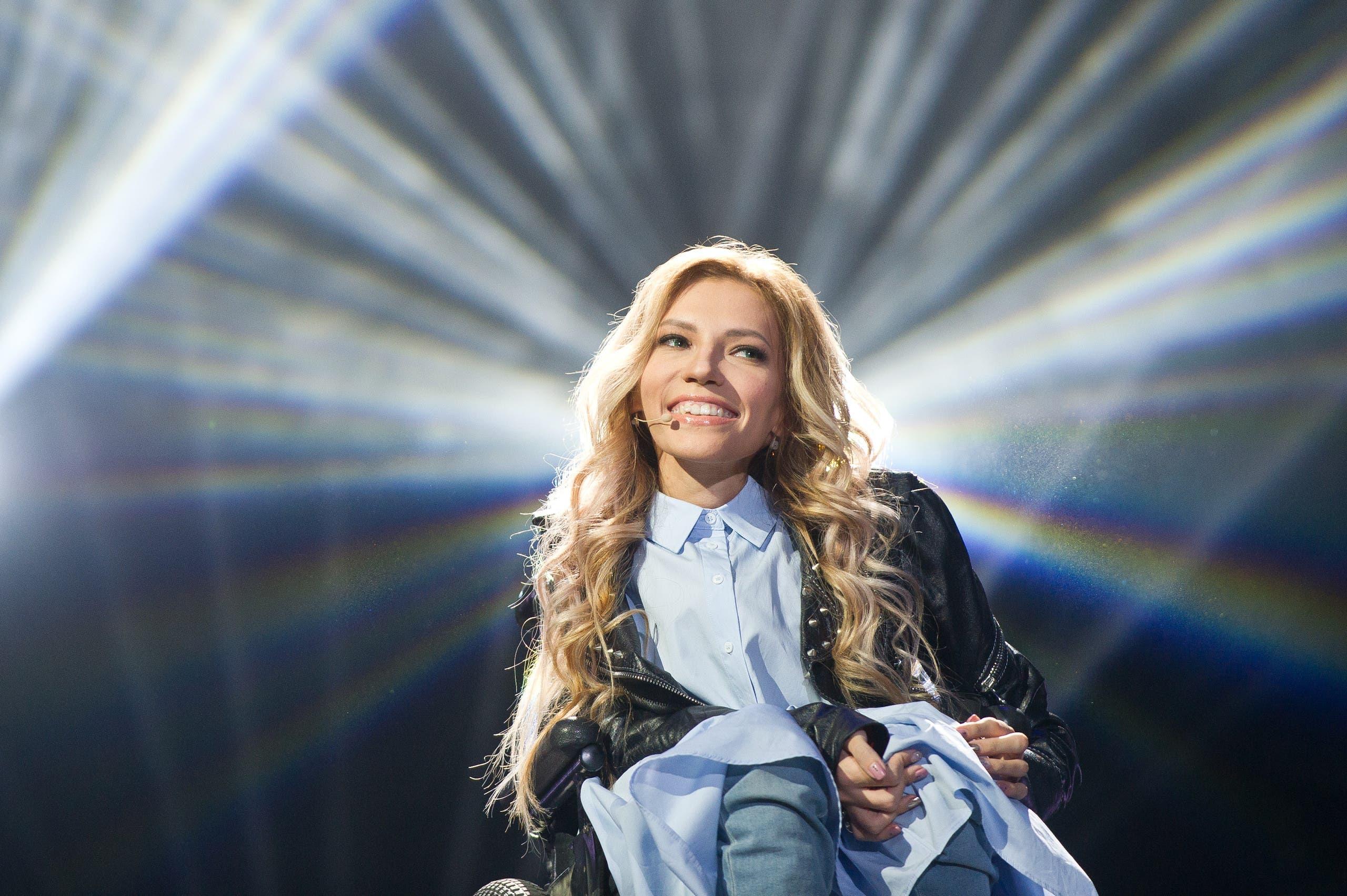 المغنية الروسية يوليا سامويلوفا