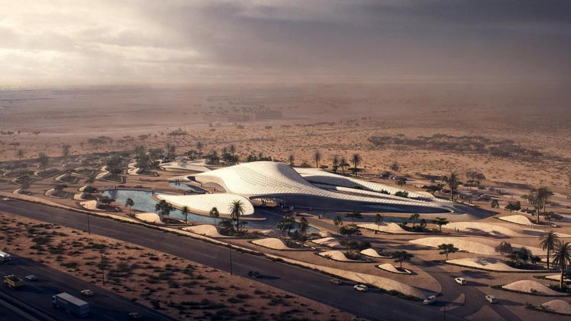 Designed by the renowned Zaha Hadid Architects, the new headquarters of Sharjah-based  , Beeah's new headquarters is futuristic, unique and an embodiment of the company's spirit and commitment towards environment-friendly practices. (Bee'ah)
