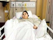خبر صادم من الهند: لا علاج للمصرية التي تزن نصف طن
