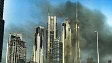 Blaze rips through 60-storey Dubai construction site near Burj Khalifa