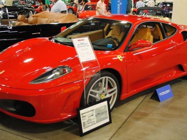 سيارة فيراري امتلكها ترمب تباع بسعر 270 الف دولار