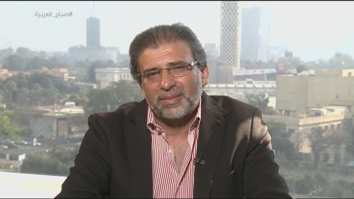 THUMBNAIL_ خالد يوسف لصباح العربية: لن أعتزل السياسة!!