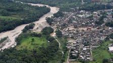کولمبیا میں لینڈ سلائیڈنگ میں 154 افراد ہلاک