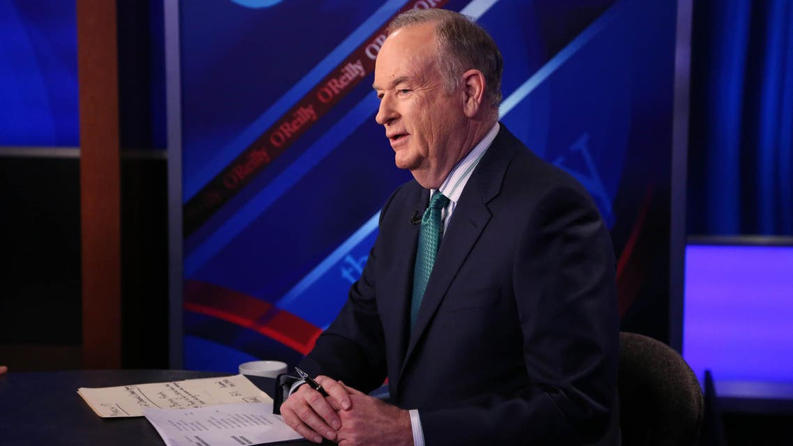 """H 17: Host Bill O'Reilly appears on """"The O'Reilly Factor"""" on The FOX News Channel at FOX Studios on March 17, 2015 in New York City. Rob Kim/Getty Images/AFP"""