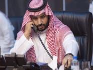 الأمير محمد بن سلمان يبحث مع تيليرسون وقف تمويل الإرهاب