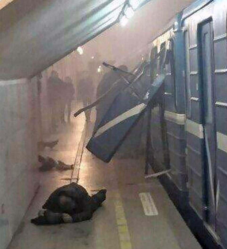 صورة تظهر قوة التفجير