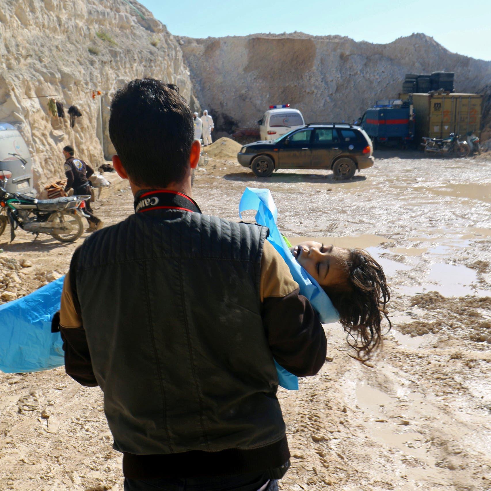 منظمة حظر الكيماوي: نظام الأسد استخدم غاز الكلور في 2018